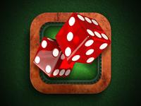Dices iPhone App icon | iOS, Design
