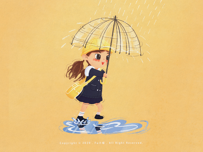 Do you like rainy days~