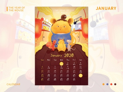 CALENDAR:The year fo the mouse01