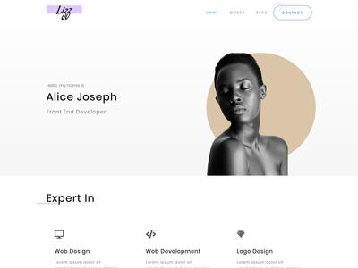 Lizz - Modern personal portfolio