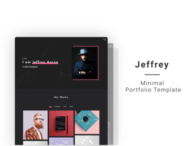 Jeffrey Aaron - Personal Portfolio Template
