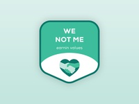 Brand Value Stickers — We Not Me