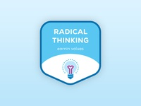 Brand Value Stickers — Radical Thinking