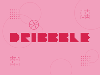 Dribbble Weekly Warm up  5 dribbbleweeklywarmup studio design plastive minimalist geometry typography challenge prompt warm up weekly dribbble