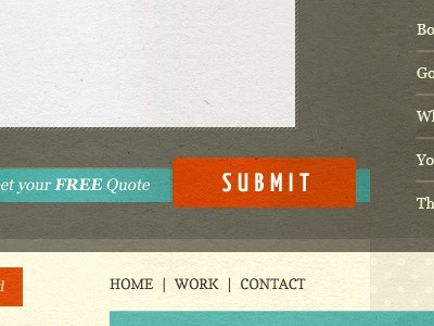 #Submit texture retro submit footer