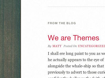 #TypeSetting blog test typography