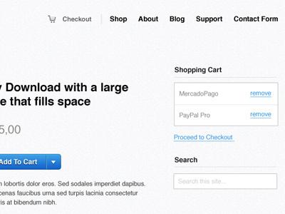 #DigitalStore layout store wordpress iconsweet2