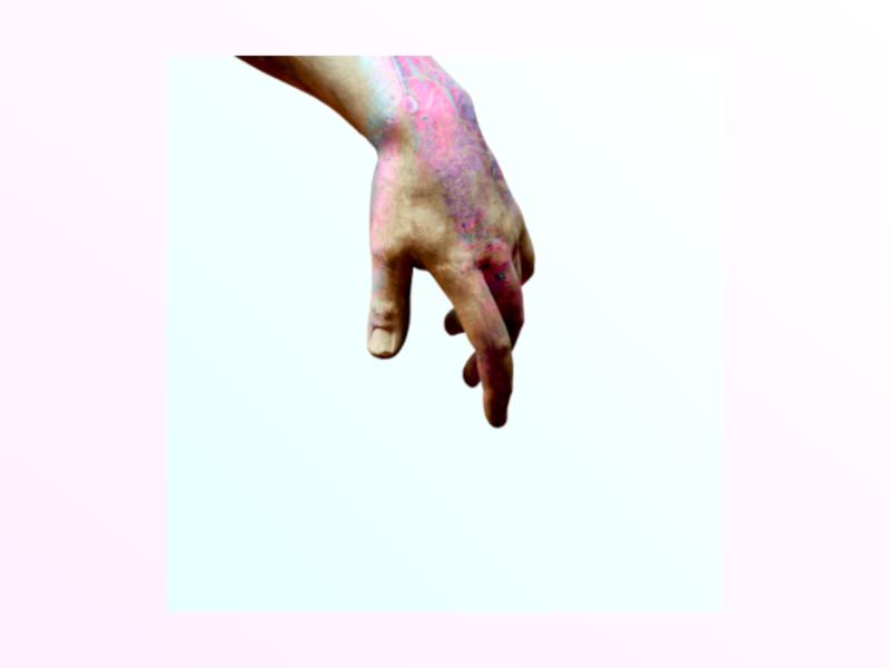 Sweet touch 3d brand graphic  design fluorescent manipulation cover album art album visual art
