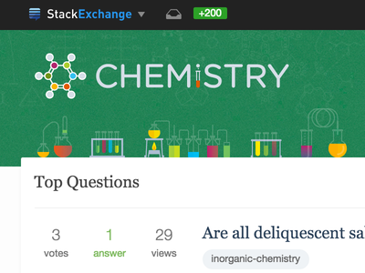 Chemistry Site Design