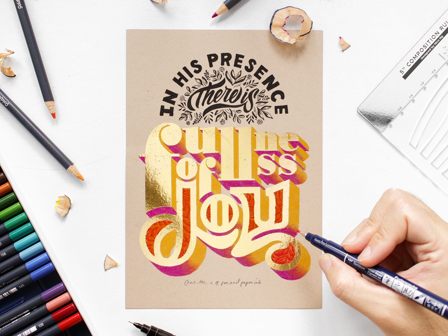 Typography Design Inspiration: A Roundup by Brooke Chantrachuck, Mark van Leeuwen and more