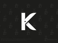 Letter K Scissors