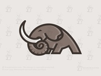 Strong Elephant Logo (for sale)