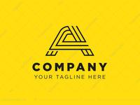 Techy Letter A Logo