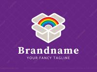 Rainbow In A Box Logo