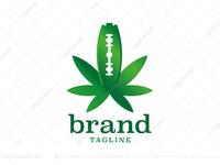 Cannabis Razor Blade Logo