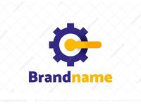 Gear Letter C Logo