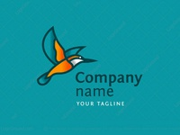 Flying Kingfisher Logo