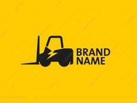 Electric Forklift Truck Logo