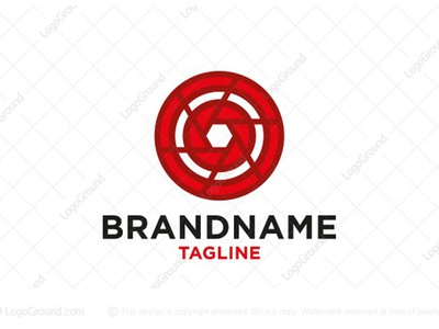 Photography Shutter Target Logo