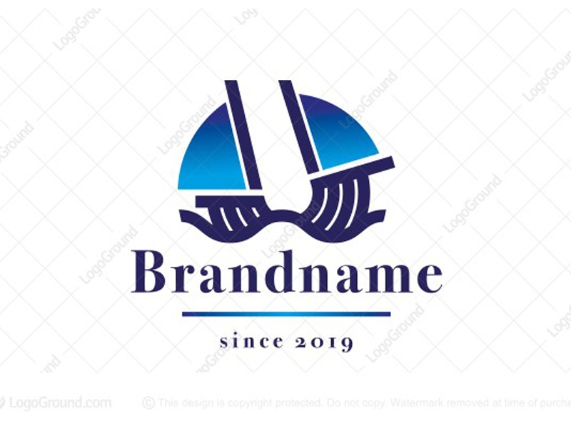Galleon Ship Logo pirates maritime shipyard marine navy warship battleship water sea boating shipping nautical yacht boat ocean waves sailing galleon logo for sale logo