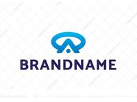 Monogram Letter OA / AO Logo