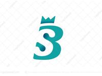 Monogram Letter SB / BS Logo