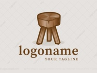 Wooden Stool Logo
