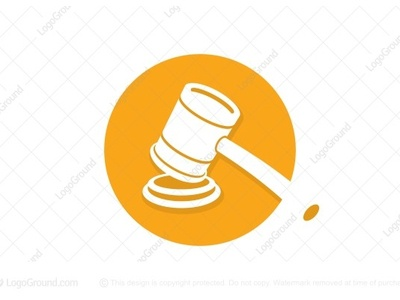 Court Judge Hammer Logo (for sale)