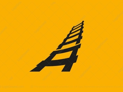 Ladder Letter A Logo (for sale)