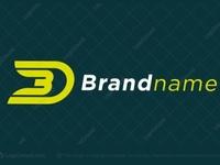 Monogram Letters BD / DB / 3D (for sale)