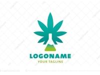 Cannabis CBD Lab Logo (for sale)