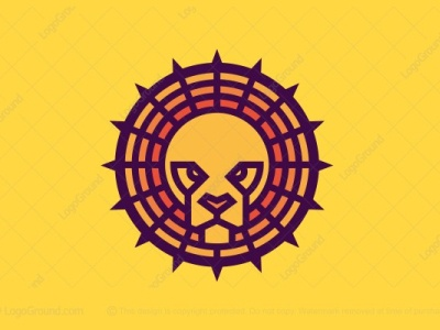 Lion with Halo Logo (for sale)