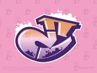 Graffiti Letter E Logo (for sale)