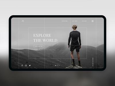 UI Challenge - Day 4 - Air minimal khoianh design interface uidesign ui