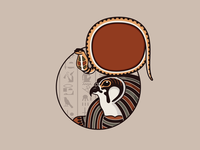 Ra the God creativetribe khoianh illustraion myth ancient re