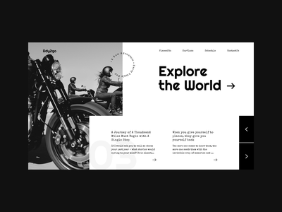 Rdy2Go minimal creativetribe interface ui design uidesign khoianh