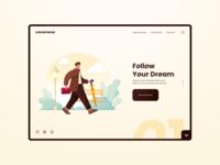 Careerwise ui8 sapiens vector illustration clean minimal creativetribe interface uidesign ui design khoianh