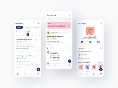 Redesign OPLA app minimal clean interface creativetribe uidesign ui design khoianh