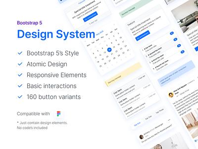 Bootstrap 5 Design System bootstrap design system interface ui khoianh