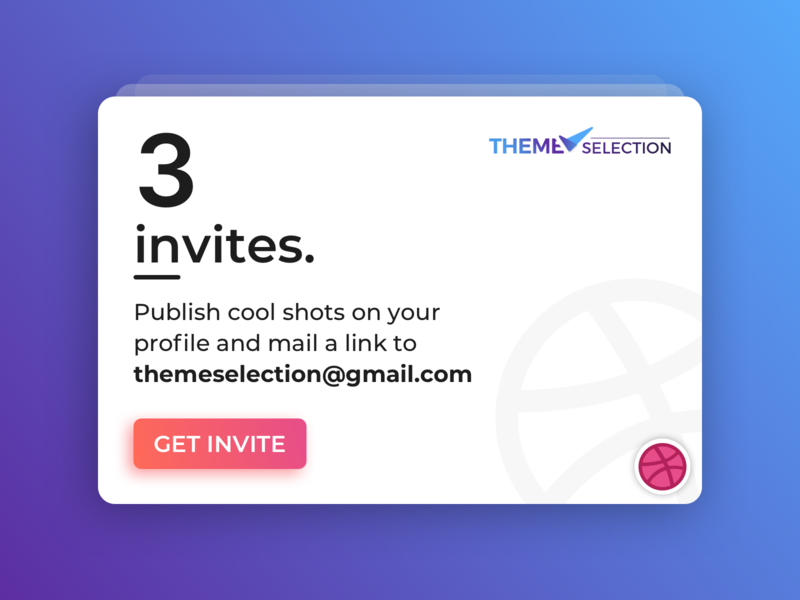 3 Dribbble Invites Giveaway uiux graphic animation illustraion dribbble invitation dribbble invite opportunity designer invites giveaway dribbble free