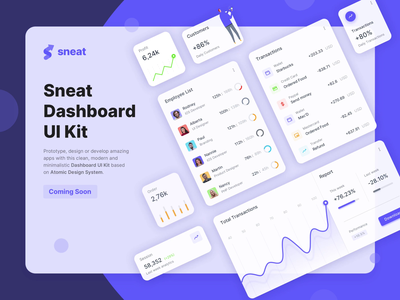Sneat Dashboard UI Kit 🤩🤩🤩 sneat figma uikits uikit uidesign uiux bootstrap dashboard sketch dashboard ui admin theme admin dashboard bootstrap admin