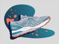 Asics Illustration