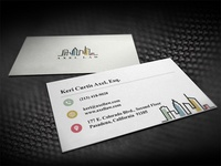 Axellaw logo and business card