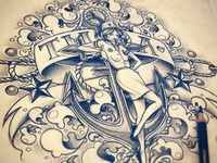 Commissioned tattoo