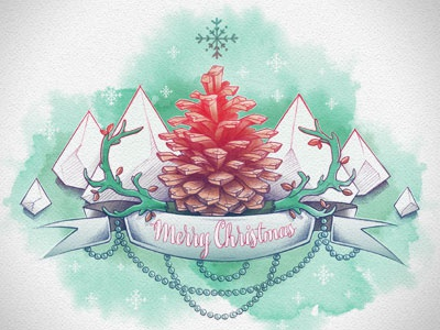 Merry Christmas! hand drawing sketch drawings illustration christmas