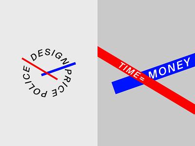Design Price Police Logo branding logo concept brutalist design
