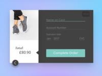 Desbit Card Payment Screen - DailyUI 002