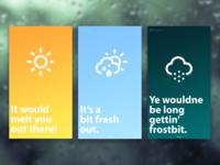 Wee Weather App