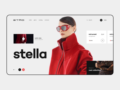 Etro Online Store buying scroll glitch video clothes cart items product body girls buy shop ui ux online app after effects motion animation choice