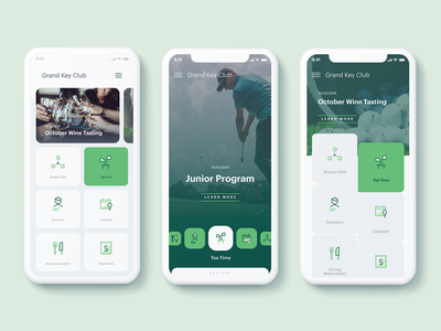 Golf Club Mobile App